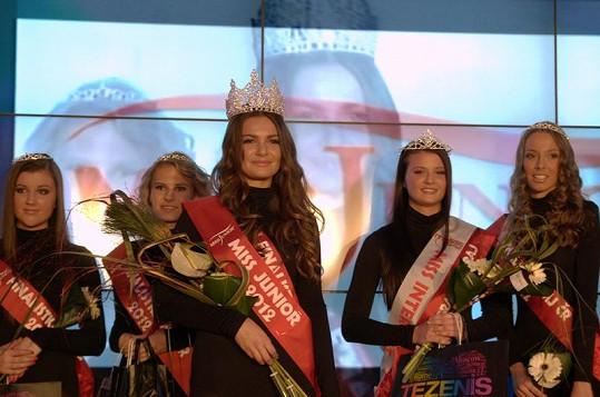 Vítězky Miss Junior 2012.