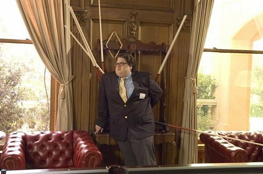Jonah Hill přd pěti lety na snímku z filmu Bezva vejška.