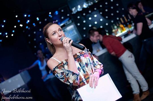 Romana Pavelková pracuje i jako moderátorka