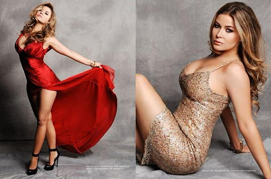 Carmen Electra pro magazín Regard.