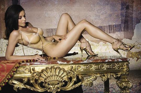 Tělo měla Kubelková vždy výstavní.