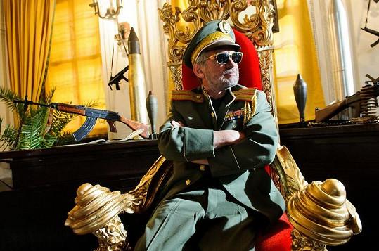 Oldřich Kaiser ve své nové roli.