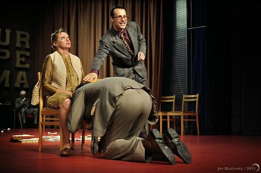 Dita je dnes vytíženou brněnskou divadelní herečkou.