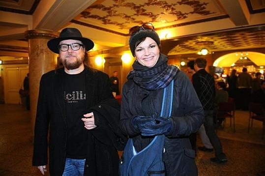 Simona Postlerová s manželem.