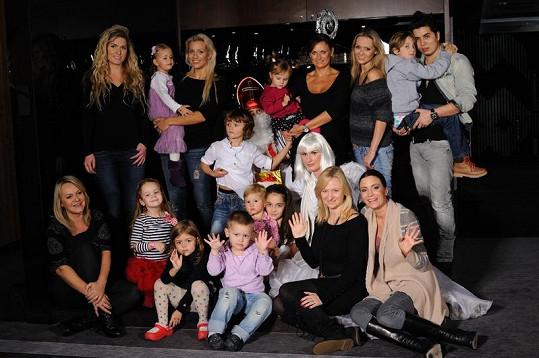 Martina Gavriely a ostatní slavné matky s ratolestmi strávily v hotelu Savoy Royal ve Špindlerově mlýně kouzelný víkend.