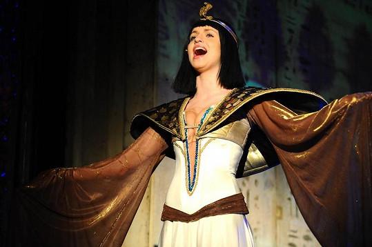 Gunčíková se bude objevovat v muzikálu Kleopatra do 26. února. Pak se vrací opět k bigbítu.