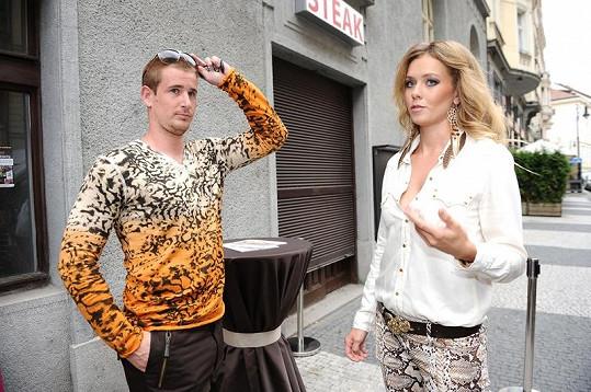 Veronika a Roman se na akci sladili do zvířecích vzorů.