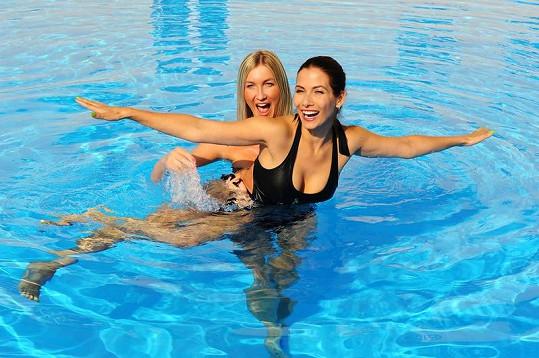 Eva s Dominikou Mesarošovou