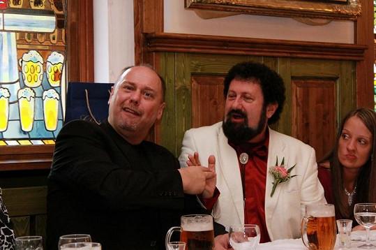 Pavel Pásek a Vladimír Nerušil jsou dlouholetými přáteli.