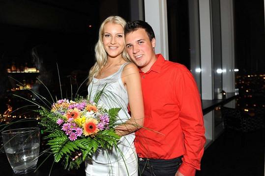 Česká Miss 2011 Jitks Nováčková a její přítel Marek Ferenčík, který je jí velkou oporou
