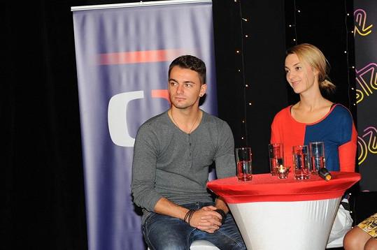 Bára Poláková a Václav Masaryk se spřátelili.