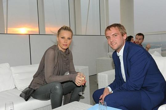 Simona Krainová a Libor Bouček