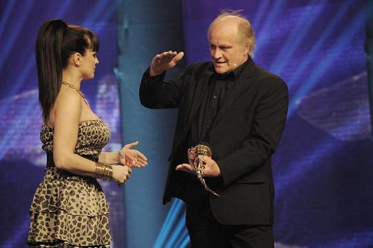 Marta Jandová s Michaelem Kocábem.