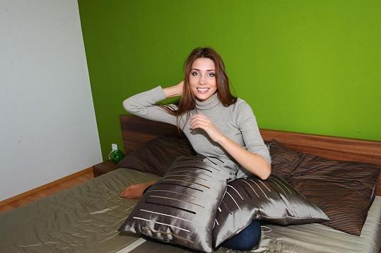 Česká Miss World 2011 Denisa Domanská se těší, až si bude moct odpočinout.