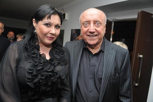 Dáda s manželem Felixem Slováčkem.