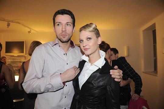 Lukáš Hejlík s bývalou láskou Veronikou