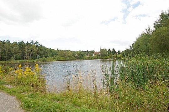 Nedaleko domu je jezero.