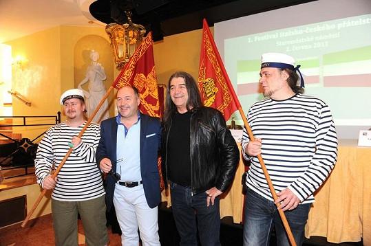 Drupi a Michal David jsou symboly česko-italského přátelství.
