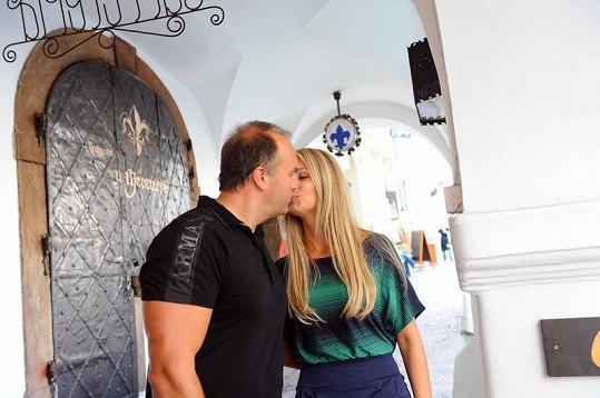 Marek Vít se svou přítelkyní Kateřinou.