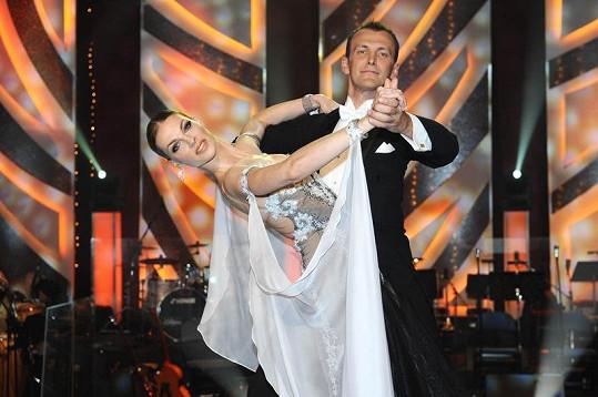 Pavlína Němcová předvedla s partnerem Janem Tománkem lekci elegance.