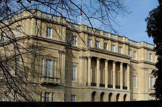 Clarence House, oficiální sídlo prince Charlese.
