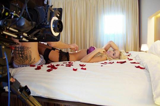 Kateřina Šonková předvedla své luxusní tělo.