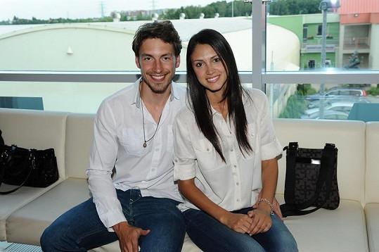 Martina doprovázela jeho brazilská přítelkyně.