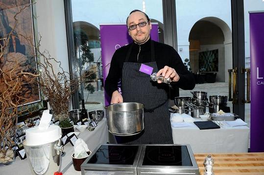 Marián Vojtko je prý i doma skvělý kuchař.