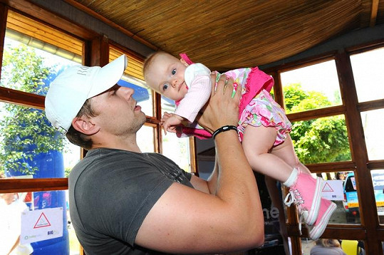 Martin Tůma s dcerou Claudií.
