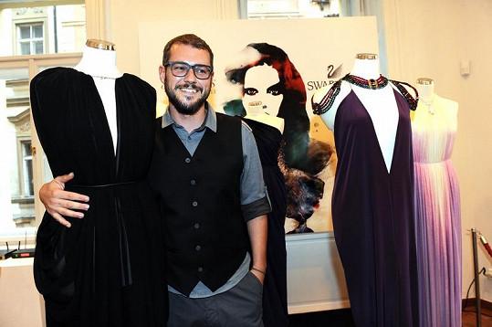 """Jakub Polanka navrhl jedinečnou kolekci šesti modelů, které ztvárňují kolekci Swarovski """"Kingdom of Jewels"""" pro sezónu 2012/13."""