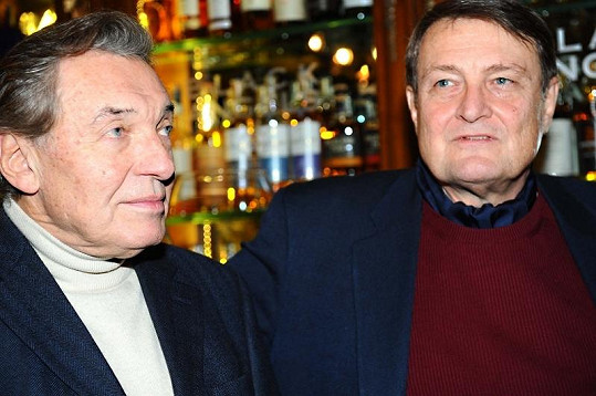 Karel Gott a Ladislav Štaidl.