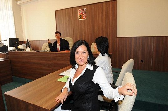 Mirka Čejková se usmívá i u rozvodu