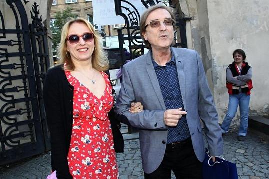 Miro Žbirka s manželkou Kateřinou