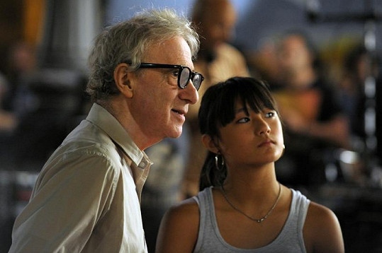 Slavný režisér na natáčení filmu Bop Decameron.