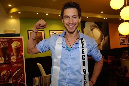Martin Gardavský stanul na mezinárodní soutěži mužské krásy Mister International 2011 na druhém místě.