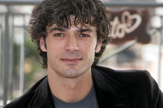 Italský herec Luca Argentero.