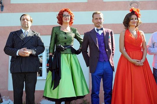 Ivana Chýlková, Milan Šteindler, Monika Absolonová a Petr Vondráček budou hvězdami nového muzikálu.