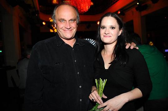 Natálie s tátou Michaelem Kocábem