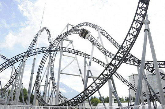 Horská dráha je dlouhá jeden kilometr.