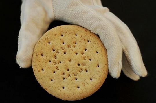 Odhadovaná cena sušenky je 42 tisíc korun.