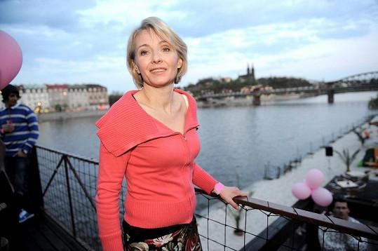 Veronika Žilková oslavila v neděli padesátiny.