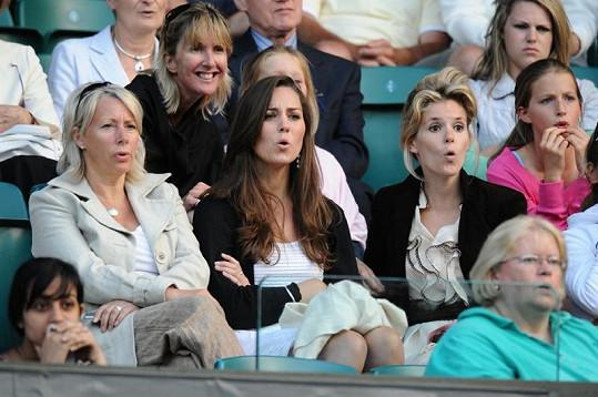 Zápas Rafaela Nadala s Nicolasem Kieferem v roce 2008 na Wimbledonu Kate prožívala.