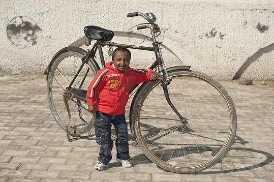 Ind přezdívaný Romeo by si na běžném kole určitě nezajezdil.