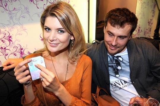 Iveta s manželem Jaroslavem.