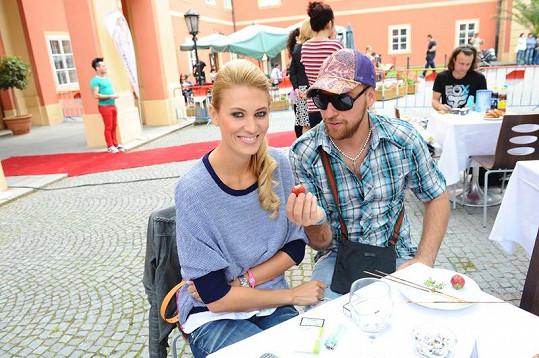 Kateřina Průšová a David Martínek.