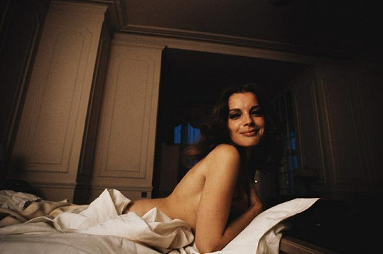 Romy na soukromém fotoportrétu ze sedmdesátých let.