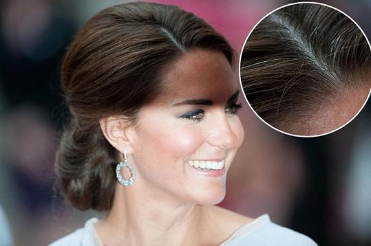 Úchvatná princezna Catherine a účes, který upozornil na pár šedivých vlasů.