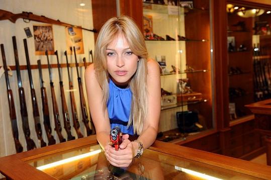 Renata Langmannová a její nová červená zbraň.