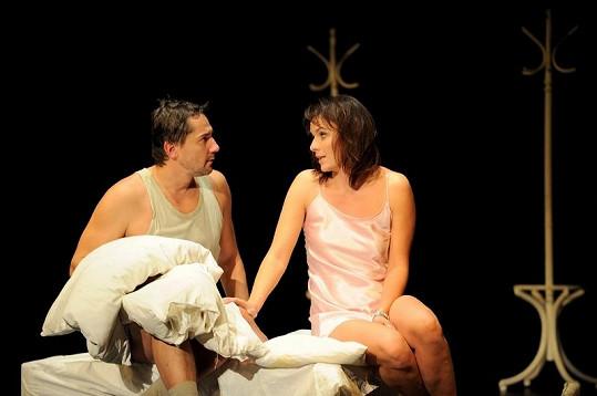 Munzarová s Trnavským zažívají intimní chvilky i na jevišti.