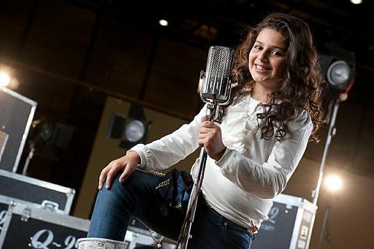 Dianka Kalashová se jako zpěvačka už narodila.